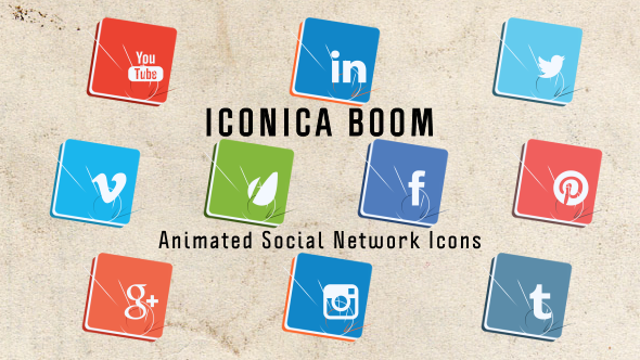 Iconica Boom Animated Icons