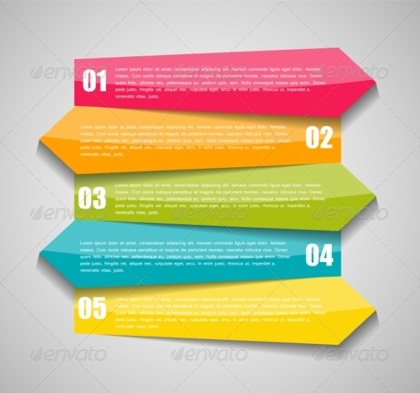 GraphicRiver Infographic Business Template Illustration 7646888