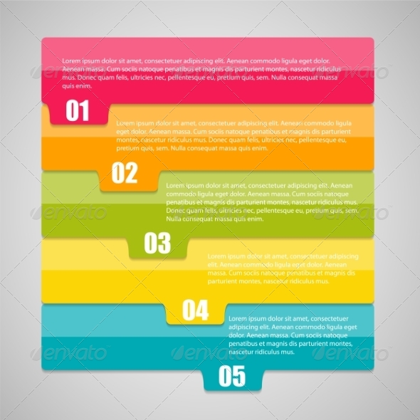 GraphicRiver Infographic Business Template Illustration 7646897
