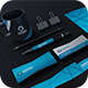 Blue Corporate Identity - GraphicRiver Item for Sale