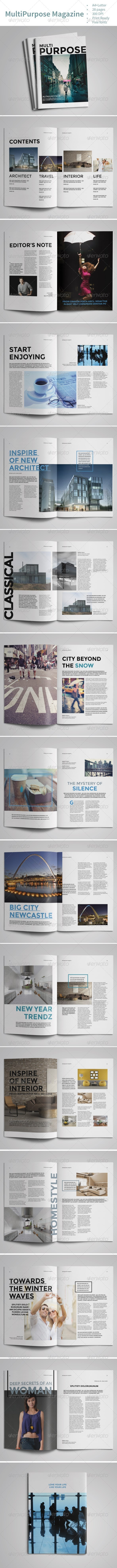 GraphicRiver Multipurpose Magazine Vol.1 7647640