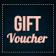 Elegant gift voucher - GraphicRiver Item for Sale