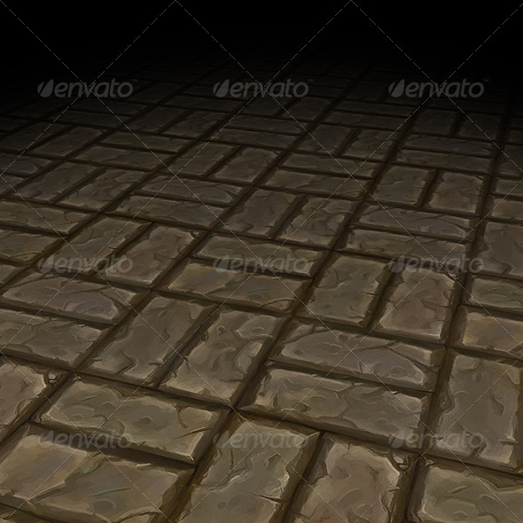 Stone Floor Texture Tile 03 - 3DOcean Item for Sale