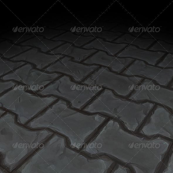 Stone Floor Texture Tile 08 - 3DOcean Item for Sale