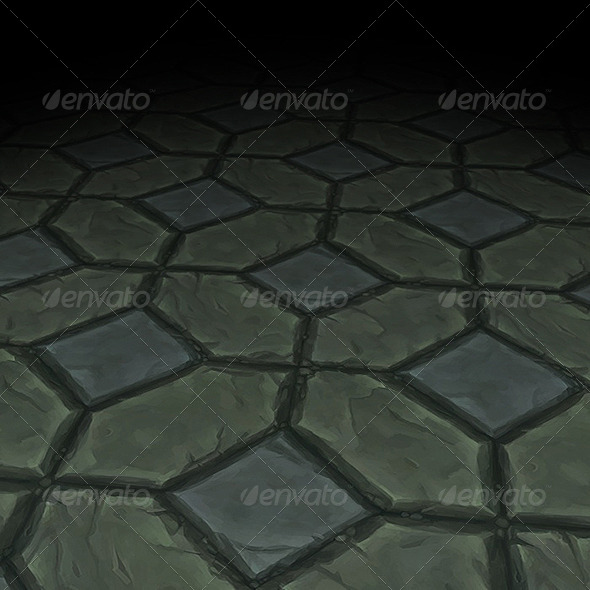 Stone Floor Texture Tile 09 - 3DOcean Item for Sale