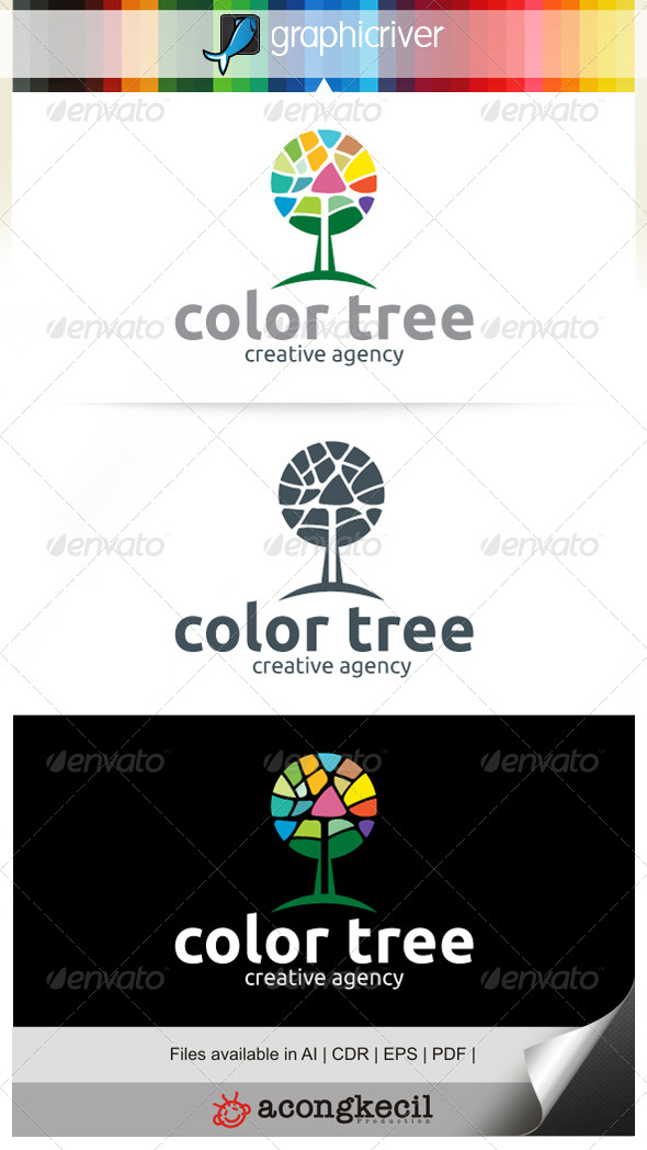 GraphicRiver Color Tree 7647941