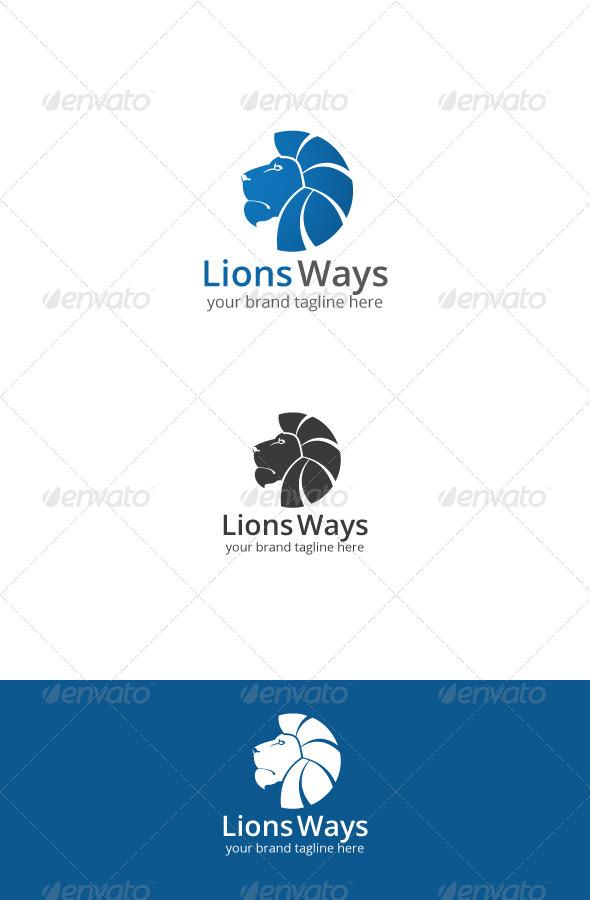 GraphicRiver Lions Ways Logo 7648071