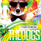 Dogs Party Flyer v.2 - GraphicRiver Item for Sale