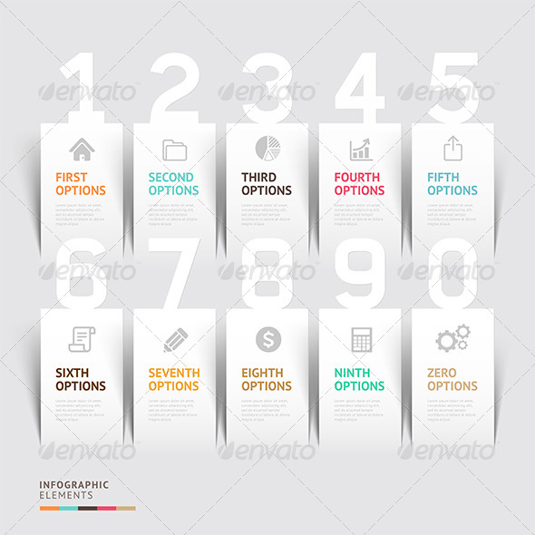 GraphicRiver Modern Infographic Number Options Template 7648444