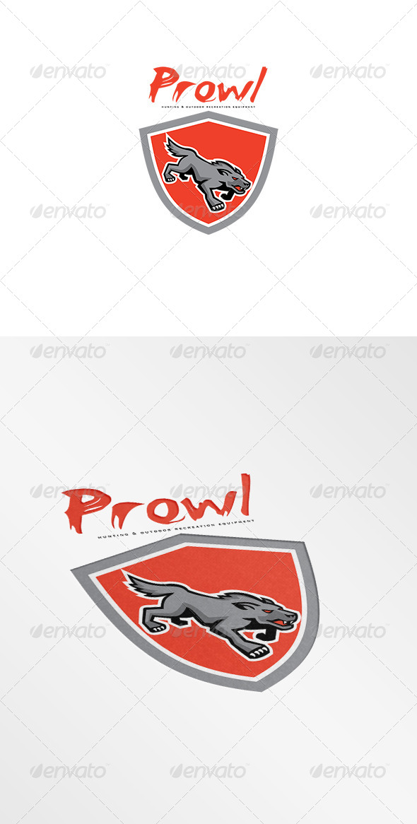 GraphicRiver Prowl Hunting and Outdoor Recreation Logo 7648778