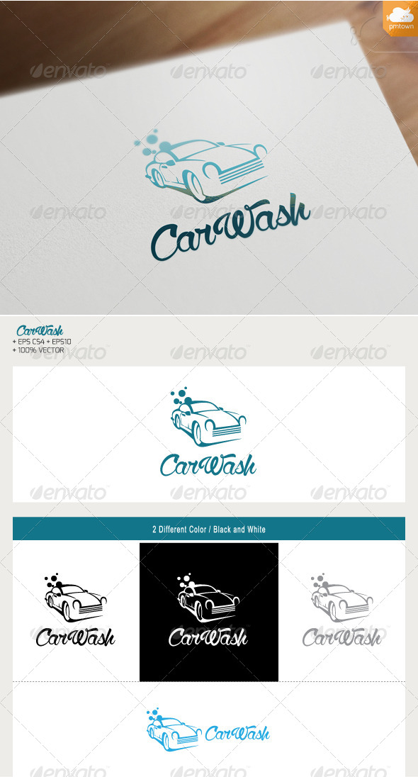 GraphicRiver Car Wash 7649067