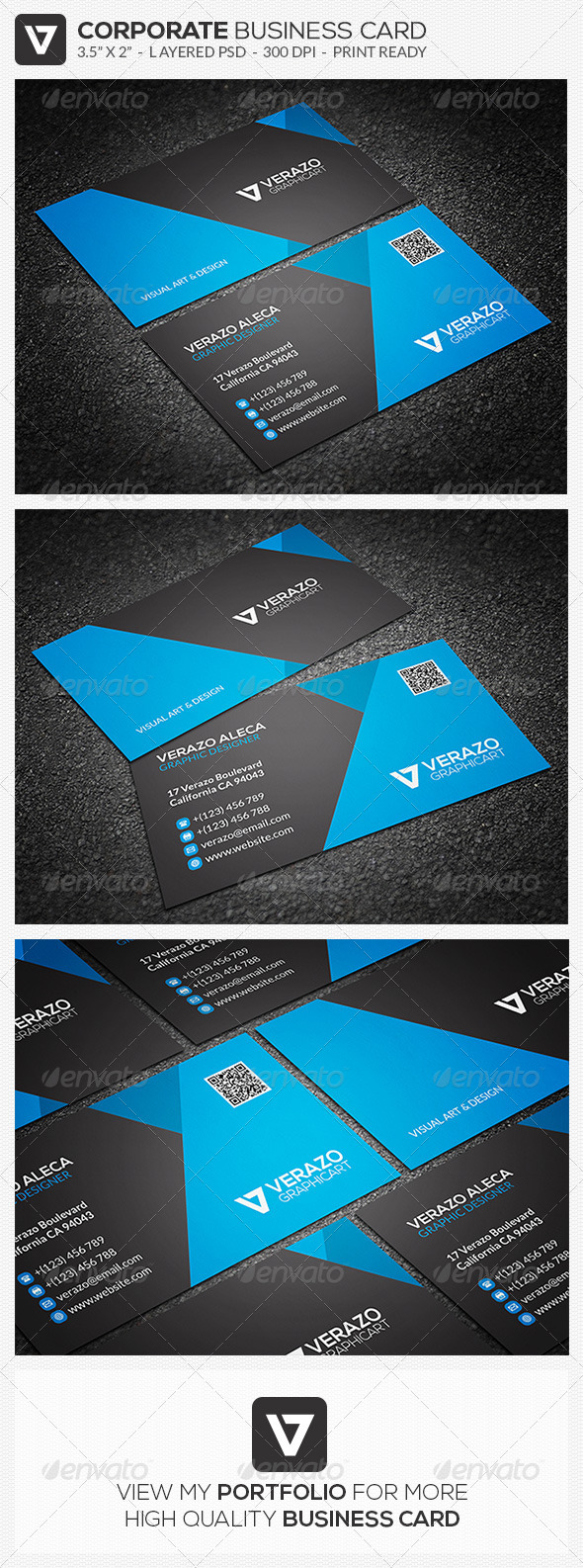 GraphicRiver Modern & Stylish Business Card 34 7649398