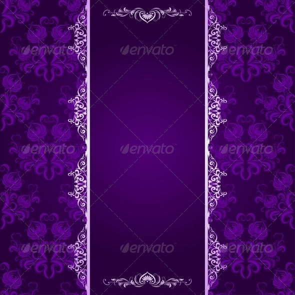 GraphicRiver Background with Lace Pattern 7649506