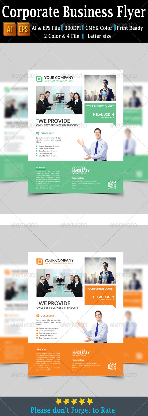 GraphicRiver Corporate Business Flyer 7649808
