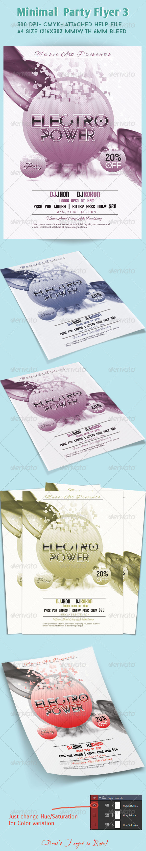 GraphicRiver Minimal Flyer 02 7650004