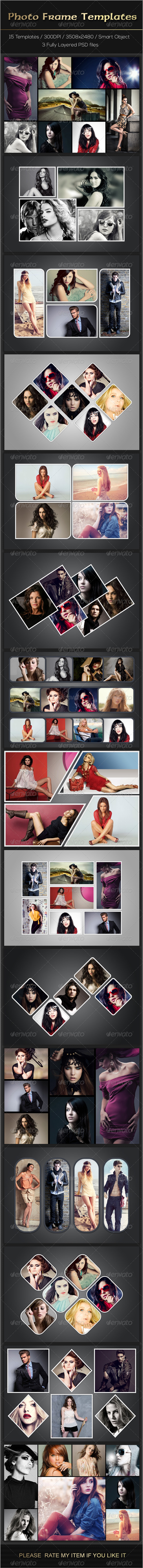 GraphicRiver Photo Frame Templates 7650011