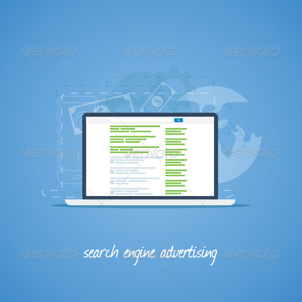 GraphicRiver Search Engine Marketing and Concept 7650190