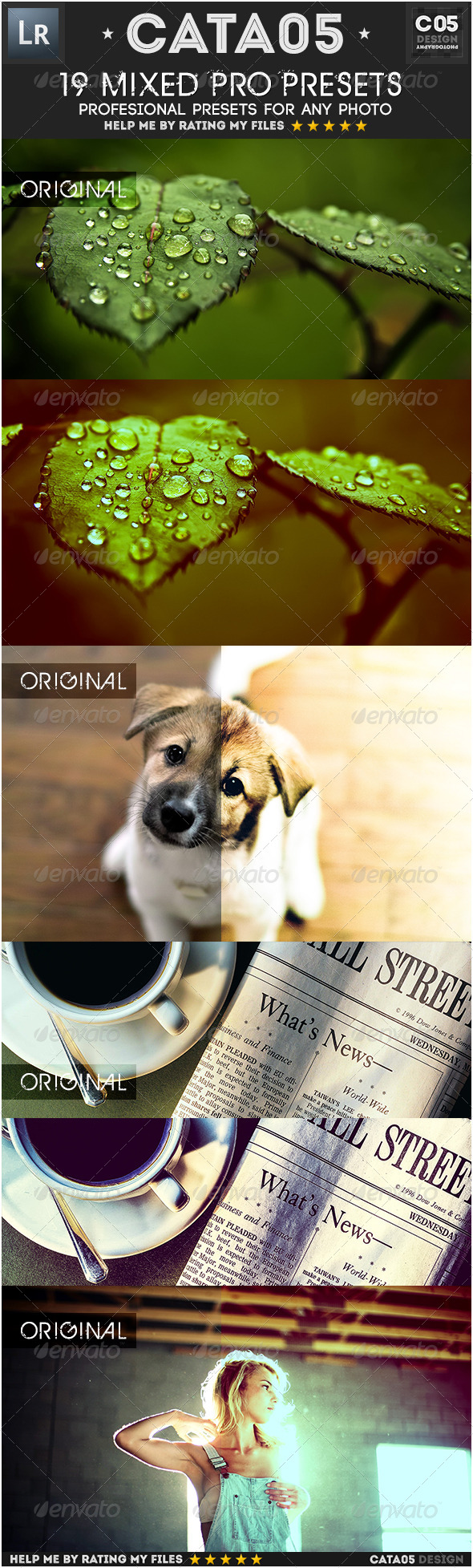 GraphicRiver 19 Mixed Pro Presets 7650367