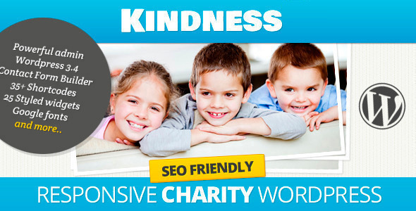 Kindness - Premium WordPress Theme Download