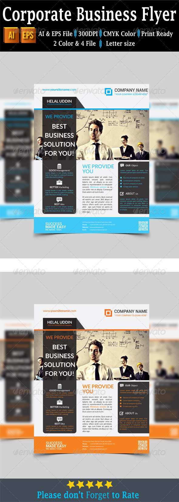 GraphicRiver Corporate Business Flyer 7650947