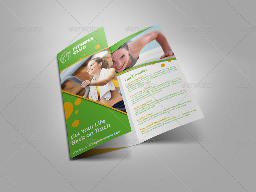 Fitness gym brochure tri fold template vol 2 by for Gym brochure template