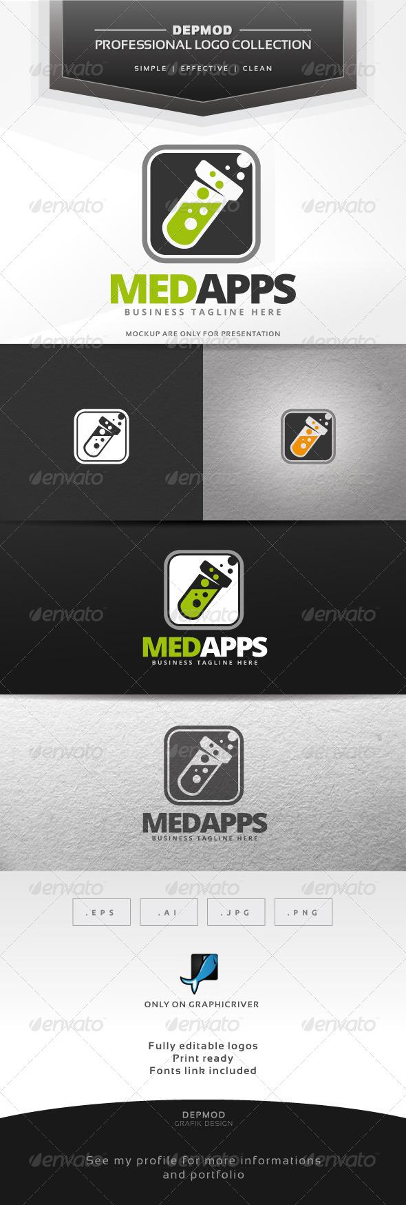 Med Apps - Symbols Logo Templates