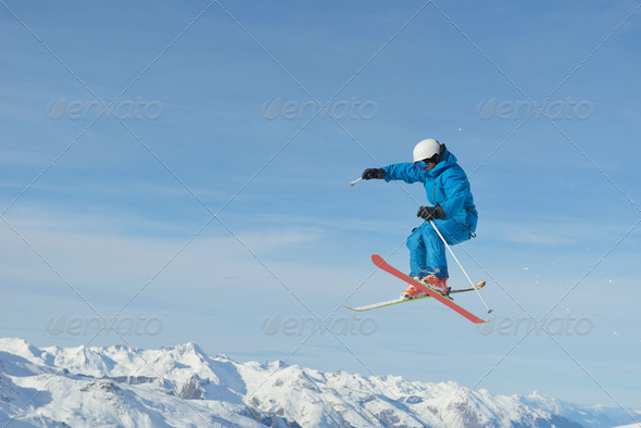 skier - Stock Photo - Images