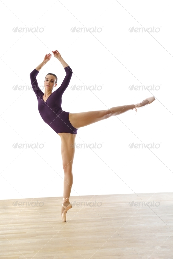 modern style ballet - Stock Photo - Images