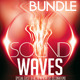 Electro Sound Waves Bundle - GraphicRiver Item for Sale