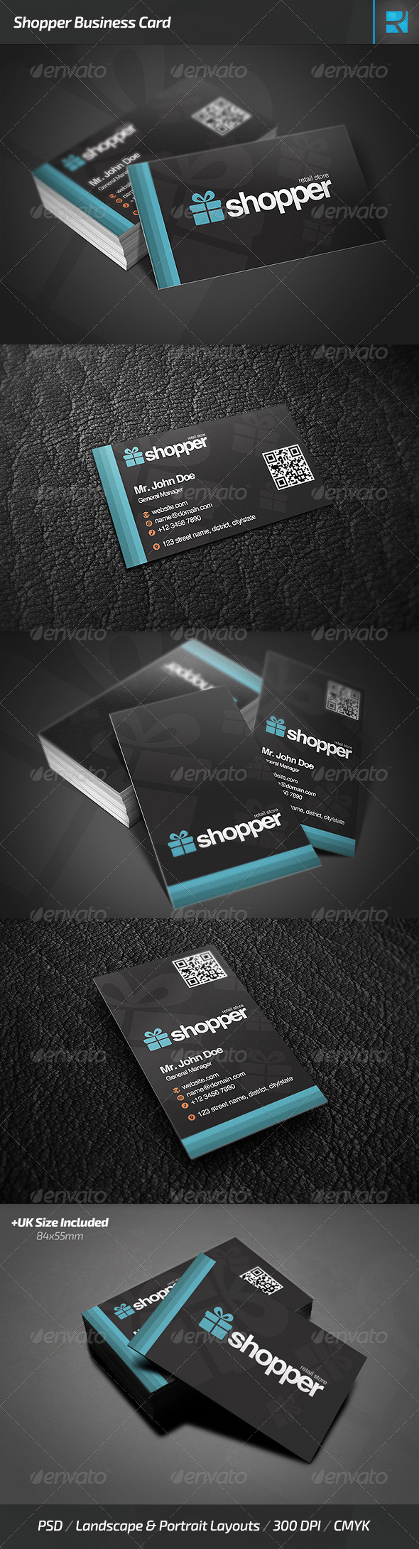 GraphicRiver Shopper Business Card 7651851