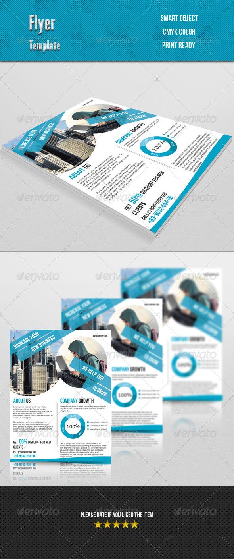 GraphicRiver Corporate Flyer 7651878