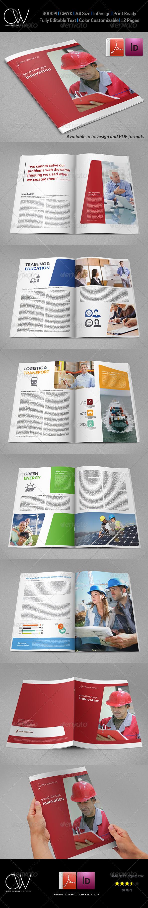 GraphicRiver Company Brochure Template Vol.36 7651970