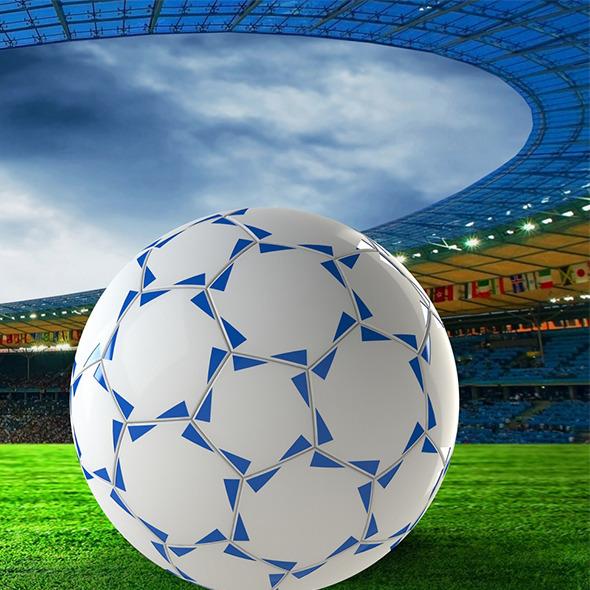 3DOcean football 7651971