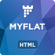 MYFLAT - Real Estate HTML Landing Page