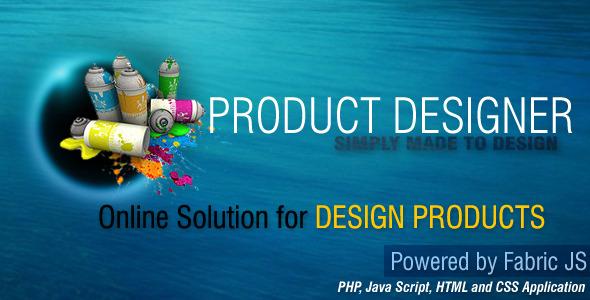 JS PHP Product Designer