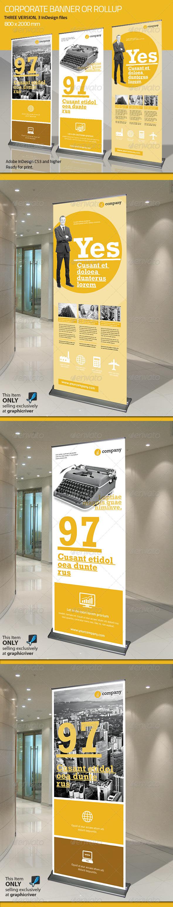 GraphicRiver Corporate Banner or Rollup Vol 5 7652342