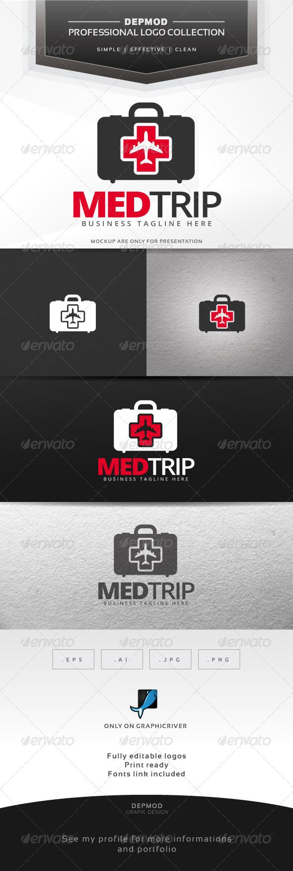 Med Trip Logo - Symbols Logo Templates