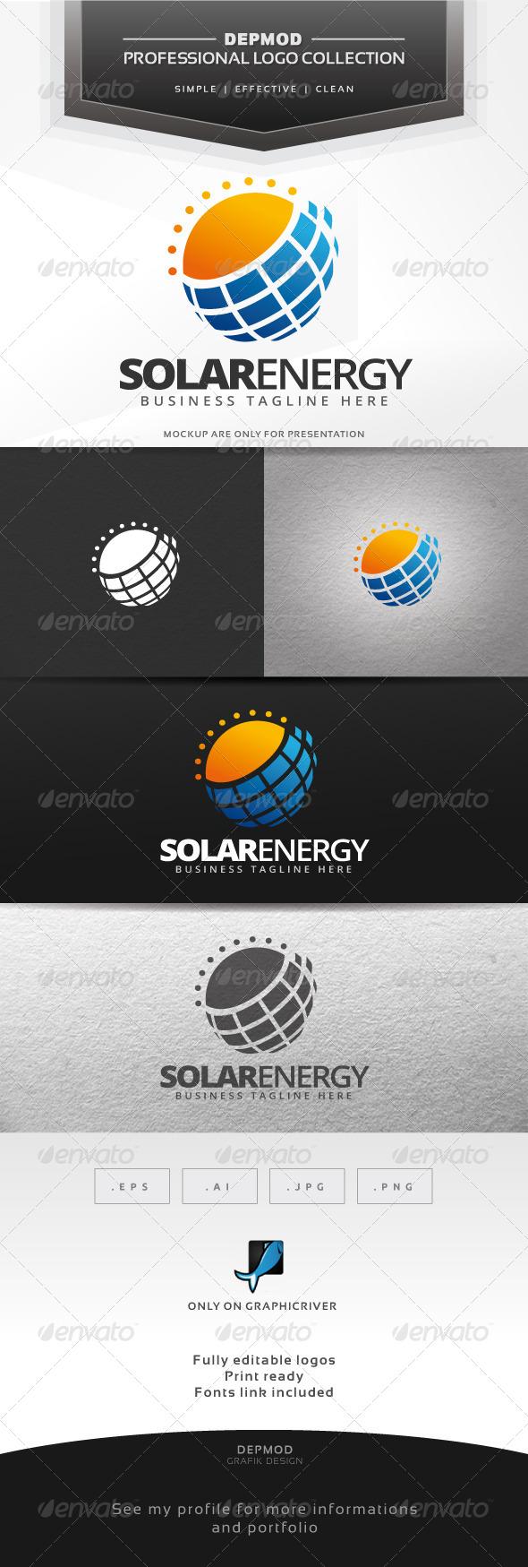 GraphicRiver Solar Energy Logo 7652421