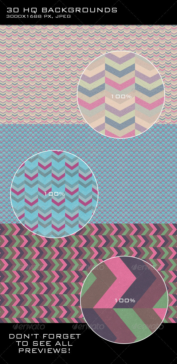 GraphicRiver Triangle Backgrounds 7652807