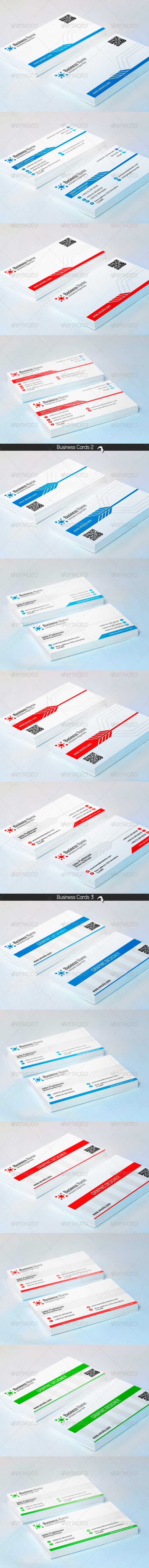 GraphicRiver Corporate Business Card Bundle 7652875