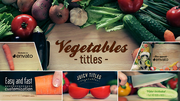 Vegetables Titles