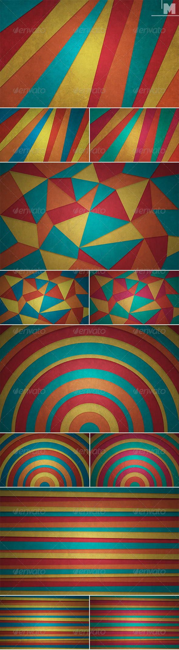 GraphicRiver Abstract Colored Backgrounds 7653052