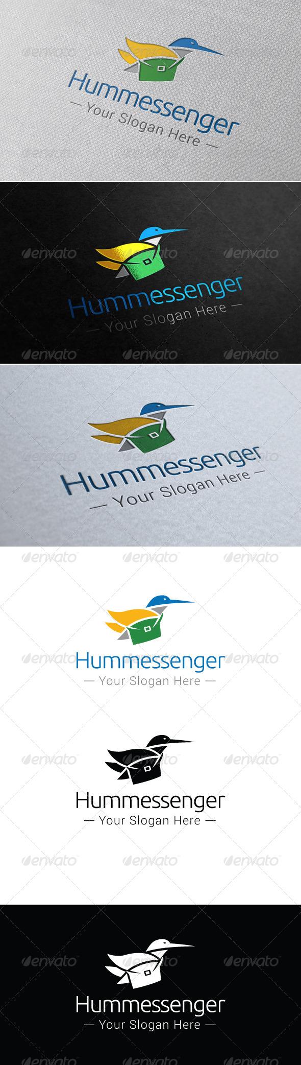 GraphicRiver Hummessenger Logo Template 7655022