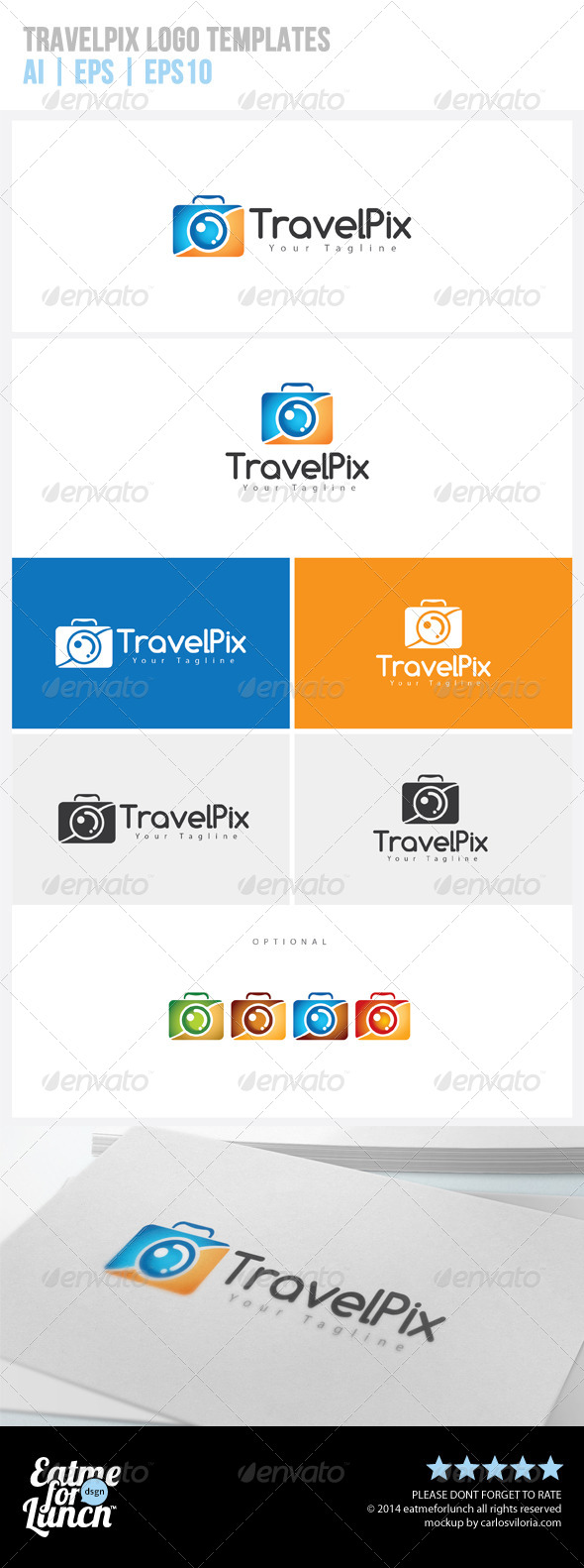 GraphicRiver Travel Photography Logo Templates 7655100