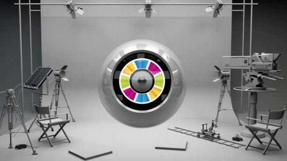 Logo Ball In Studio