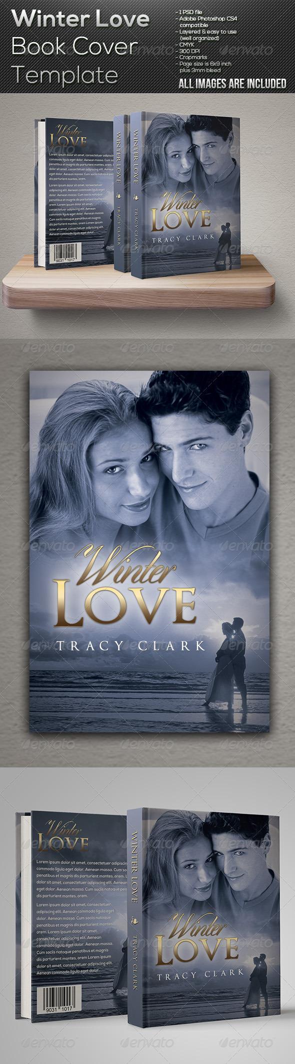 Winter Love Book Cover Template