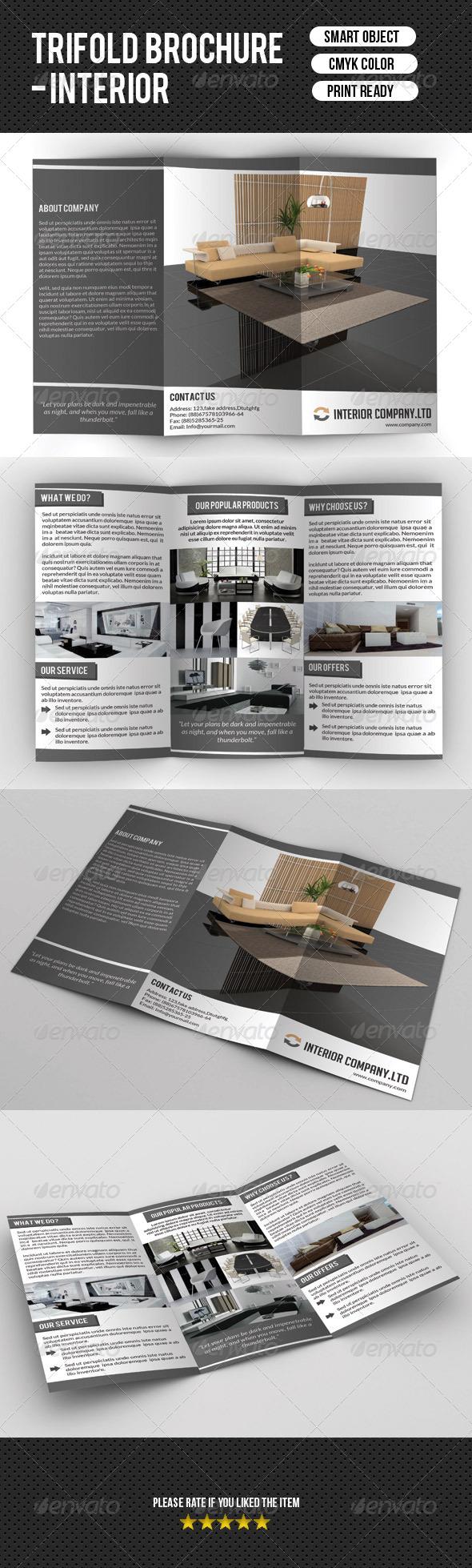 GraphicRiver Interior Brochure 7655931