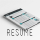 Clean Pro Resume - GraphicRiver Item for Sale
