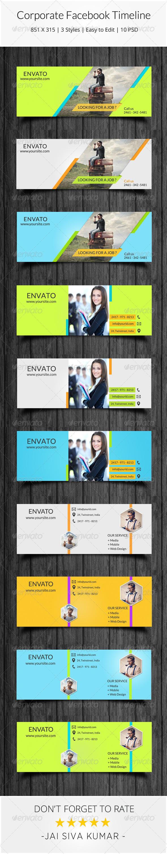 GraphicRiver Corporate Facebook Timeline 7656720