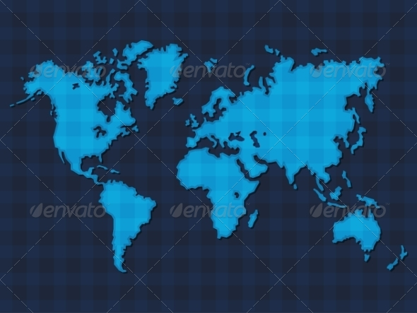 GraphicRiver World Map 7657441